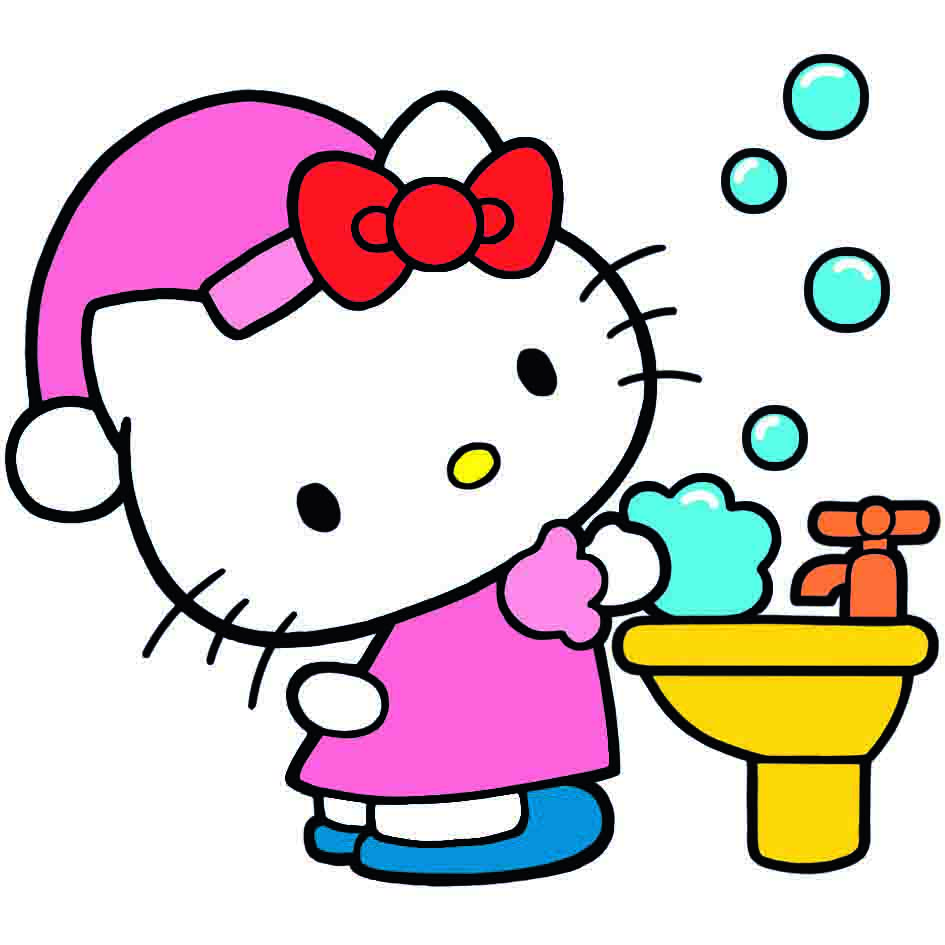Hello Kitty cuida tu salud