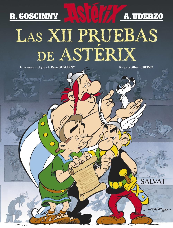 4 Pdf Asterix Y Las 12 Pruebas Libros