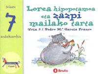 Lorea hipopotamoa eta zazpi mailako tarta