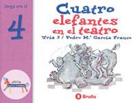 Cuatro elefantes en el teatro