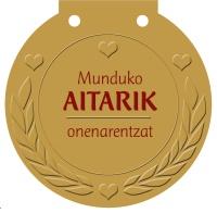 Munduko AITARIK onenarentzat
