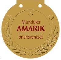 Munduko AMARIK onenarentzat