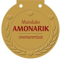 Munduko AMONARIK onenarentzat