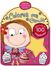 Camila, el hada de los cupcakes. Colorea con Camila