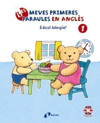 Les meves primeres paraules en angl�s, 1. Edici� biling�e!