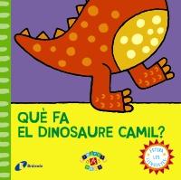 Qu� fa el dinosaure Camil?