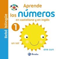 Beb� biling�e. Aprende los n�meros en castellano y en ingl�s