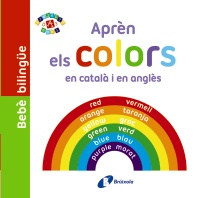 Beb� biling�e. Apr�n els colors en catal� i en angl�s