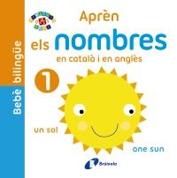 Beb� biling�e. Apr�n els nombres en catal� i en angl�s