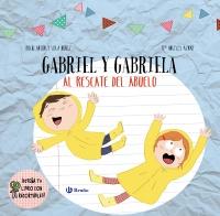 Dise�a tu libro con recortables. Gabriel y Gabriela al rescate del abuelo