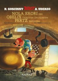 Nola erori zen Obelix txikitan druidaren pertz barrura (euskara)
