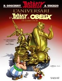 L'aniversari d'Ast�rix i Ob�lix. El llibre d'or